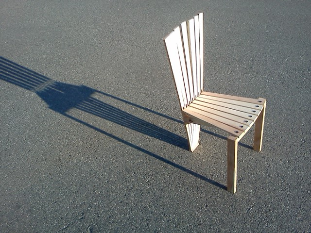 Ash Chair Prototype