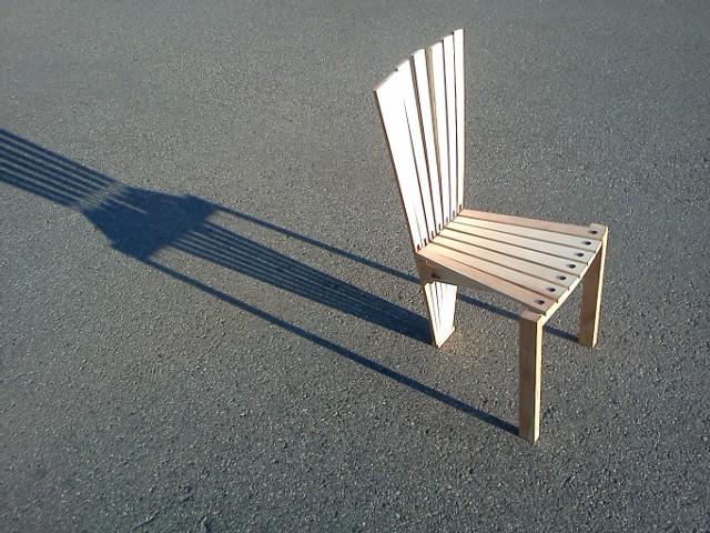 Ash Chair Prototype