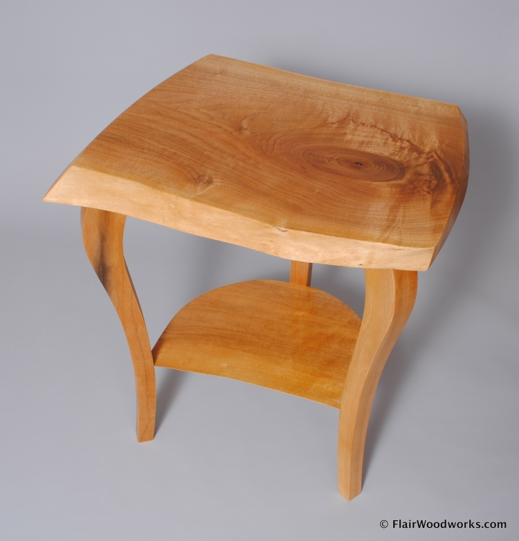 Butternut Bedside Table1