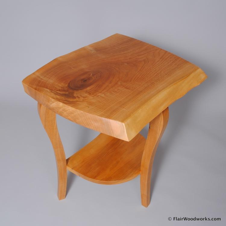 Butternut Bedside Table2
