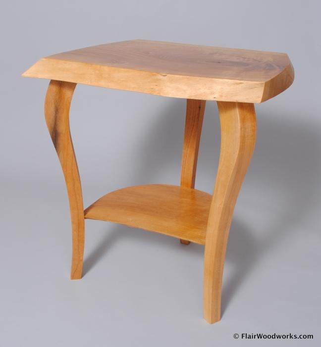 Butternut Bedside Table