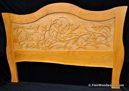 Butternut Headboard1
