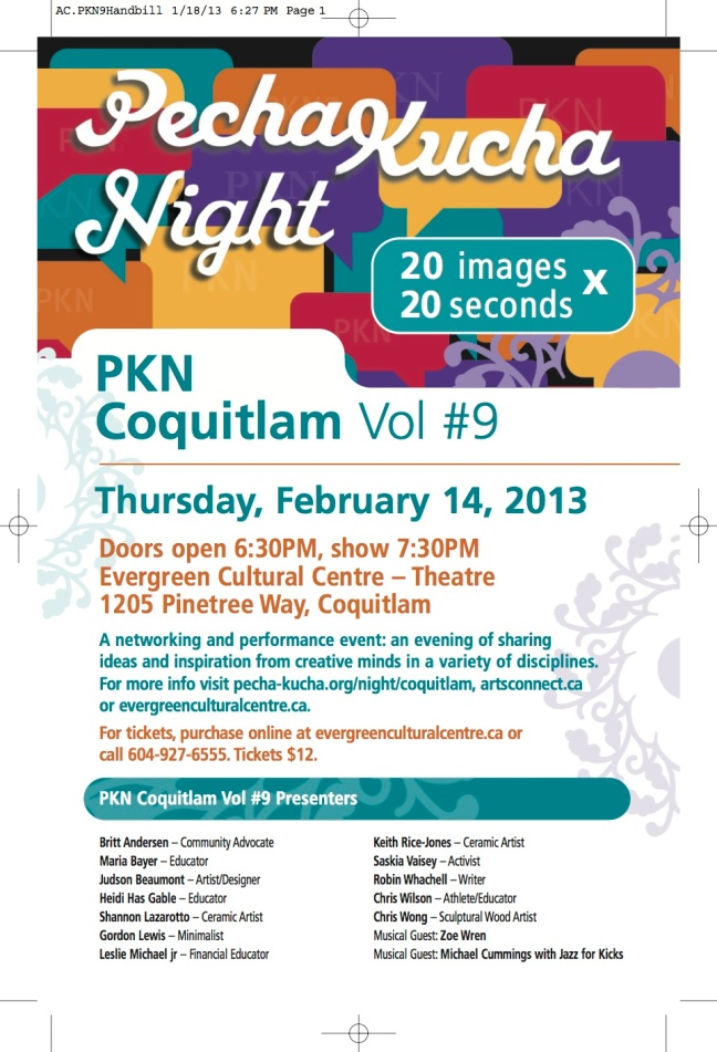 PechaKucha Night, Vol. 9