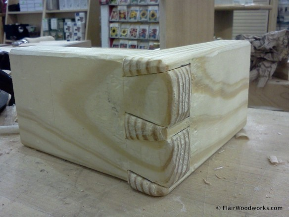 Sculpted Dovetail