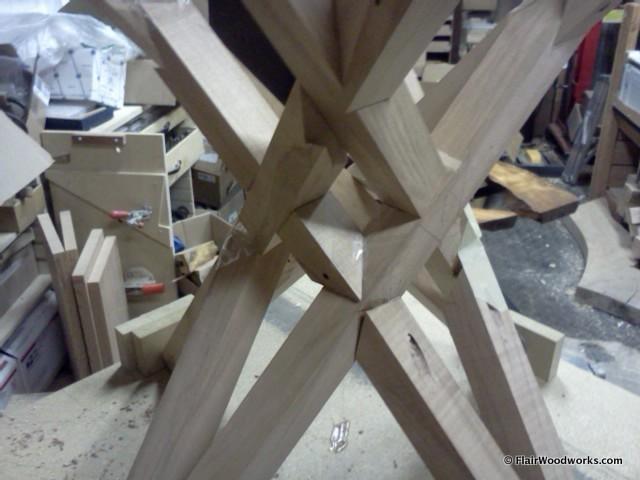V-Table Mock-Up Detail