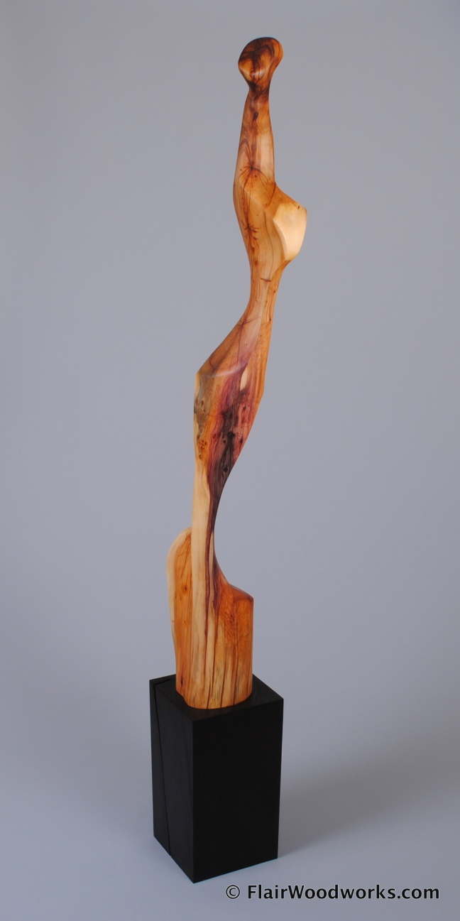 Yew Sculpture Front