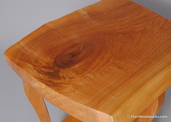 Butternut Bedside Table Detail