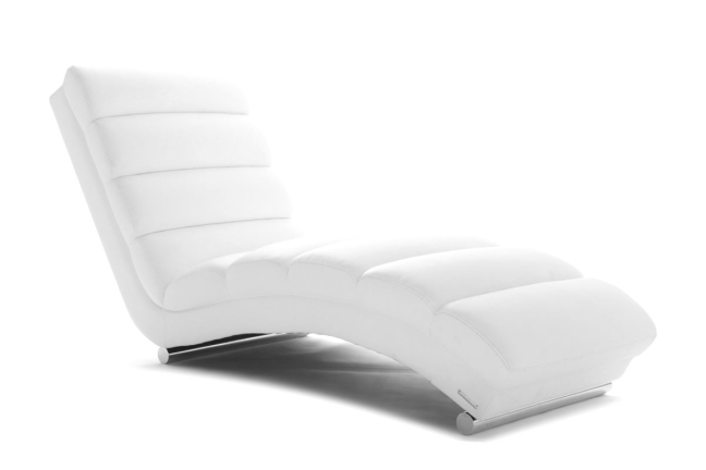 I don't think of this as a chaise longue.  (Photo from http://www.miliboo.com)