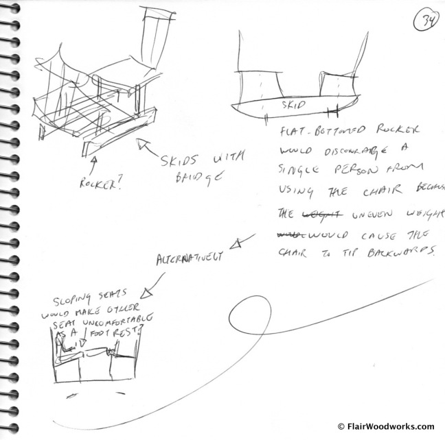 Conversation Chair Sketches page5