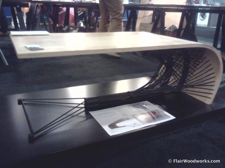 Arthur Hobden - Wicker Coffee Table Low