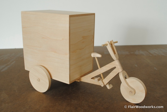 Delivery Trike Front
