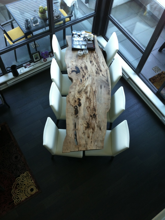 Elm Table Top