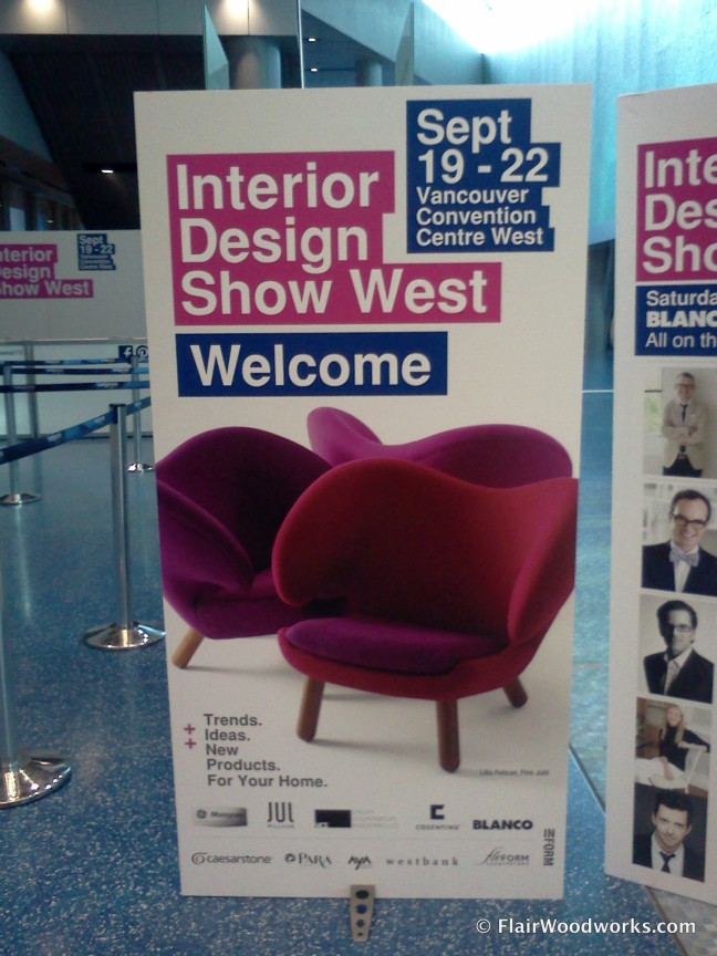 Interior Design Show West Sign