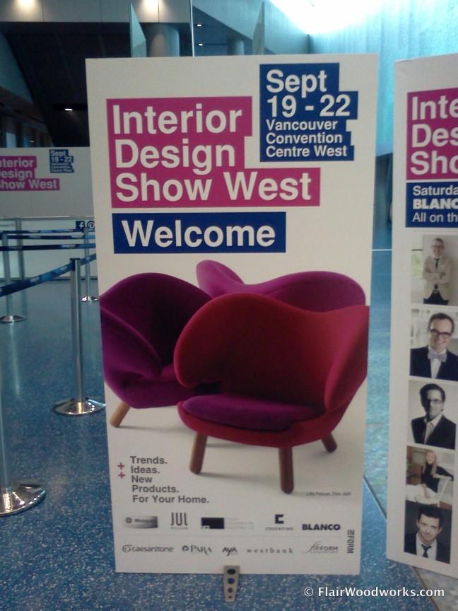 Interior Design Show West Sign