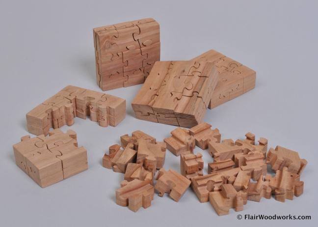 18-Piece Puzzles