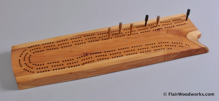 Cribbage Board 10 Top
