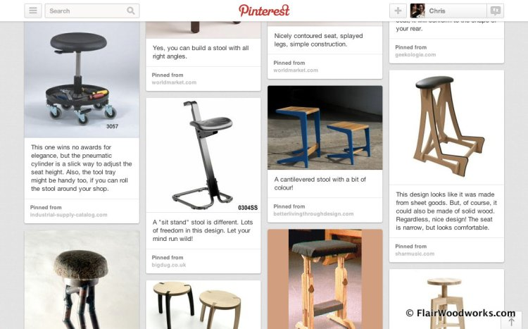 Shop Stool Build-Off Ideas Board on Pinterest