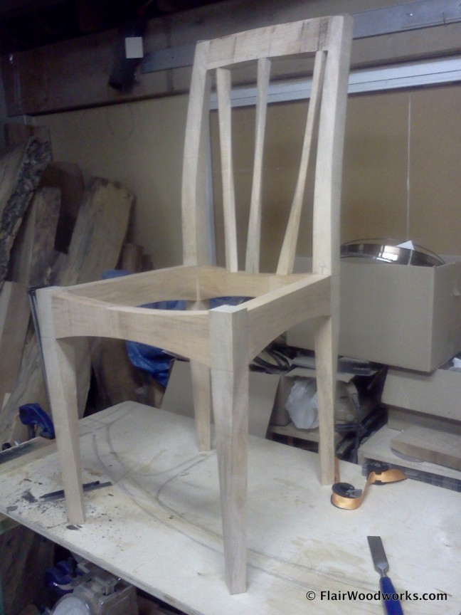 Chair with a Twist DryFit