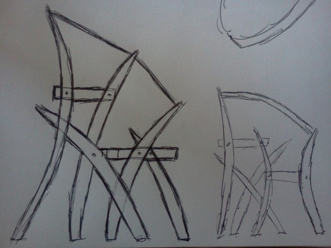 Step stool design by Chris Wong