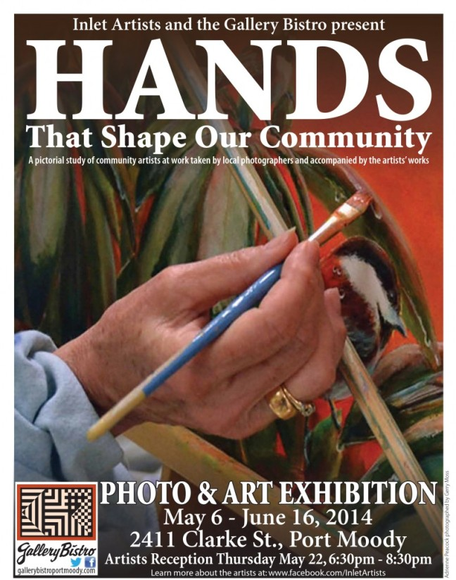 Hands That Shape Our Community Gallery Bistro