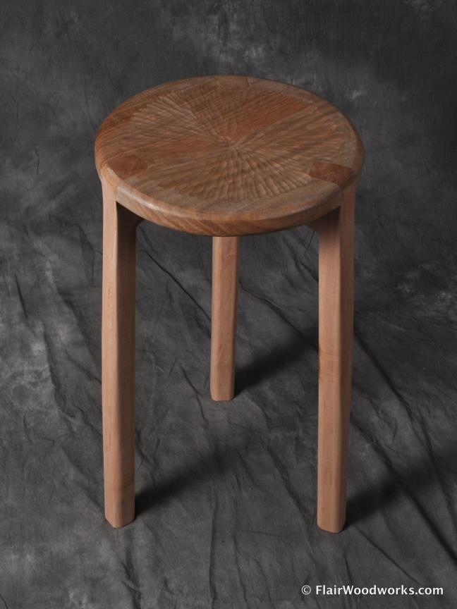 Butternut Stool Seat