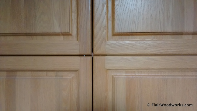 Cabinet Doors Intersecting