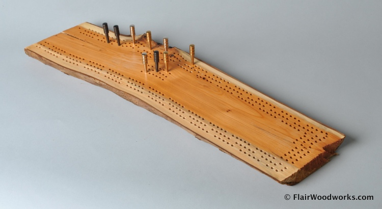 Cribbage Board 17c