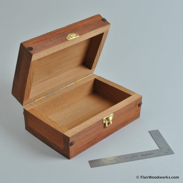 Brushed Cedar Box 1