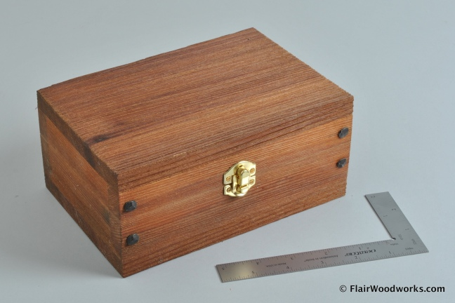 Brushed Cedar Box 2
