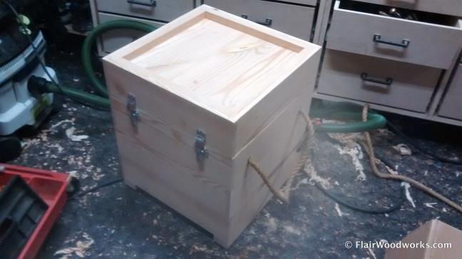 Custom Winch Box Closed