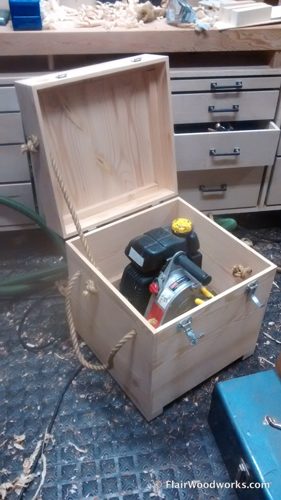 Custom Winch Box Open