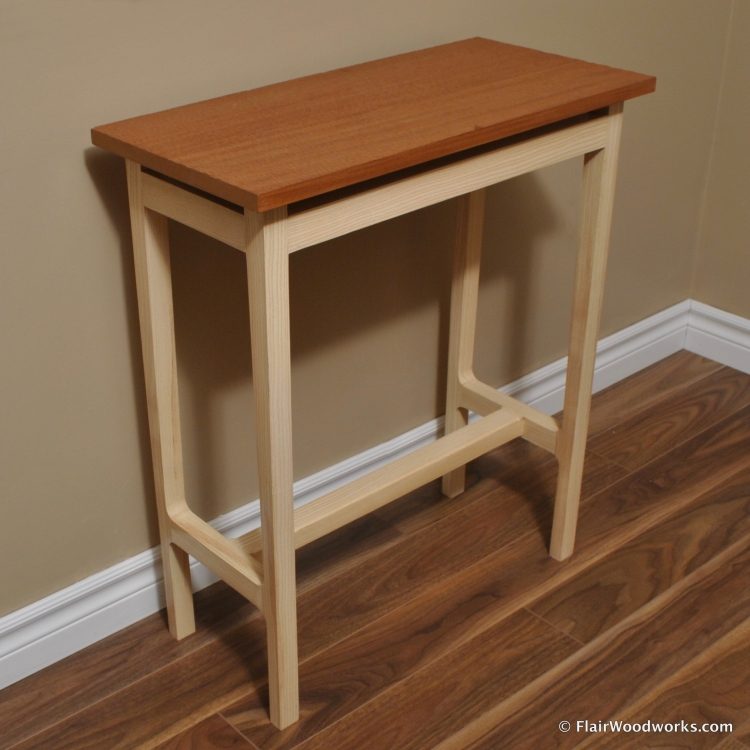 21st Century Writing Desk Back