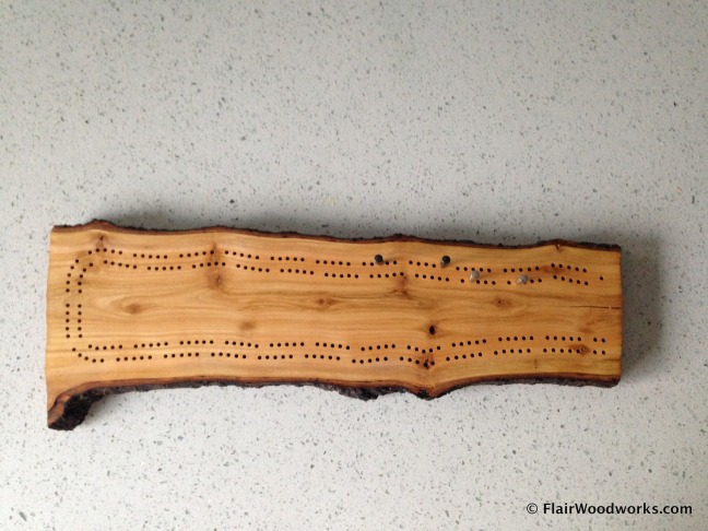 Cribbage Board 18 Top