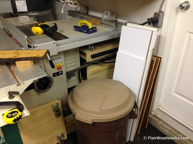 Table Saw Area