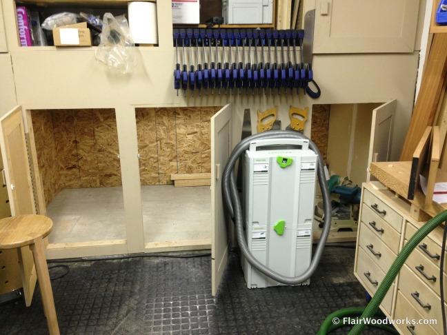 Wood Storage Area