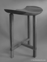 Sulpted Stool Stool -001