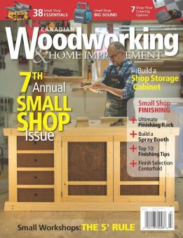 Featured By Canadian Woodworking Woodworking Magazine Flair Woodworks